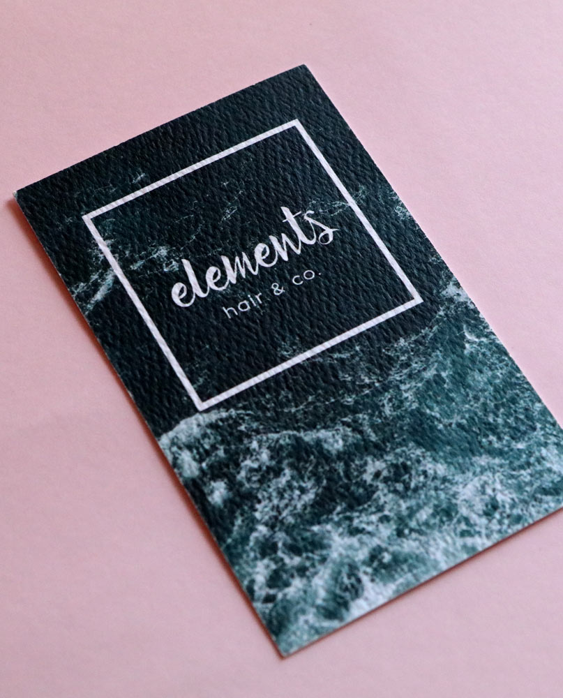 uncoated stock business cards